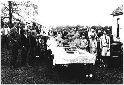 All Day Church Fellowship early 1900s